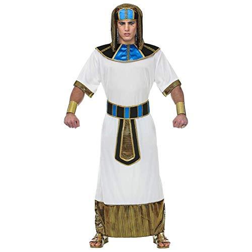 Widmann 69454 Erwachsenenkostüm Pharao, Herren, Weiß (Kostüm Anführer Halloween)