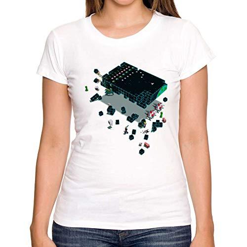 ZCYTIM Damenmode Zukunft Spiele Retro T benutzerdefinierte Shirts O-Neck Frauen Casual Mädchen 2019 Sommer T-Shirts Tops -