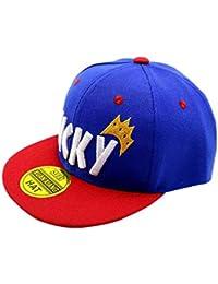 863937b82 Niño Niña Gorra De Béisbol Lucky Letras De Algodón Bordado Hip Hop  Sombreros para El Sol
