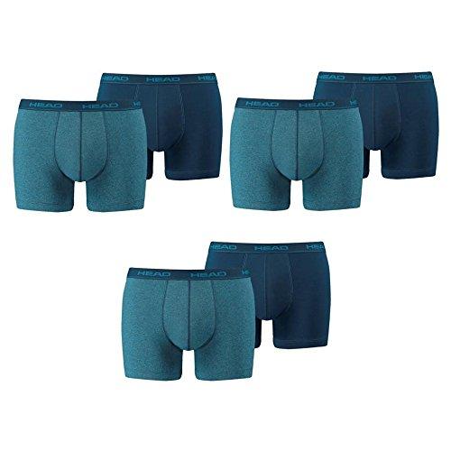 HEAD Men Boxershort Basic Boxer 6er Pack, Größe:M;Farbe:blue heaven (494)