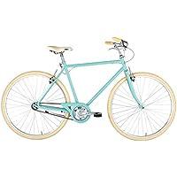 "Alpina Bike L'Ego, Bicicletta 1v Uomo, Acquamarina, 28"""