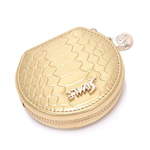 Damen Geldbörse/Münze Tasche/Europäische Mode round Kleingeld Tasche-D D