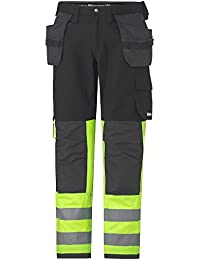 """Helly Hansen Bundhose """"Visby Construction"""" Klasse 1, 1 Stück, D100, schwarz / dunkelgrau, 76486_993-D100"""