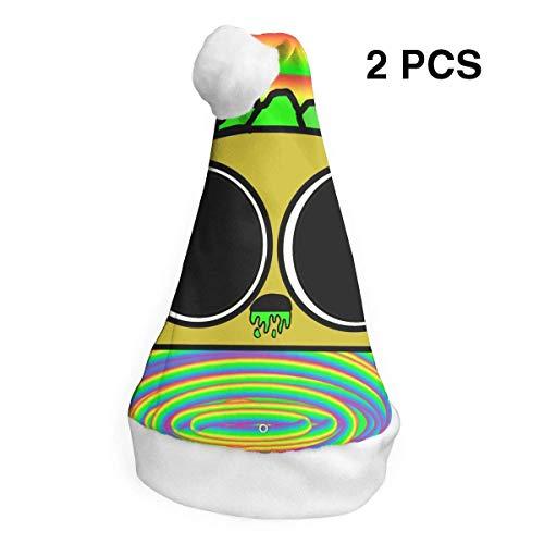 ol, säurehaltige Taco-Mütze, für Erwachsene, Kinder, Kostüm, Weihnachtsdekoration, Partyzubehör (2 Stück) ()