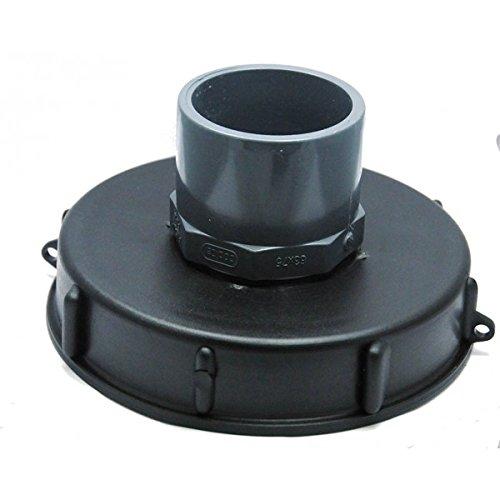 CPP - Couvercle 15cm pour cuve 1000L avec entrée PVC 63/75