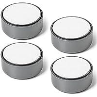 4er Set SO-TECH® Möbelfuss GOLF Gleitfuss Sofafuss Sockelfuss Möbelgleiter grau verstellbar