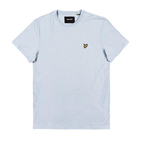 Lyle & Scott Herren Logo T-Shirt, Blau, Small (Blaue Logo-shirt)