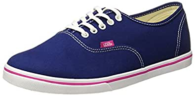 Vans Unisex Authentic Lo Pro (Pop) Blue Depths/Very Berry Sneakers - 3 UK/India (35 EU)
