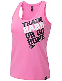 Everlast Mujer textilbek leidung musclep Harm Ladies Muscle Back chaleco, mujer, Textilbekleidung Musclepharm Ladies Muscle Back Vest, rosa, extra-small