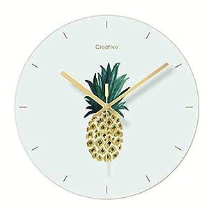 BAIF Reloj de Pared Piña