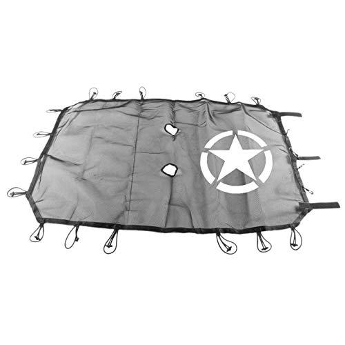 Andifany 4 Türer Version Für Dach Isolierung Mesh Schatten Netz Teile Bieten Uv Schutz Abdeckung Mit Einem Fünfzackigen Sternzeichen - Mesh-dach