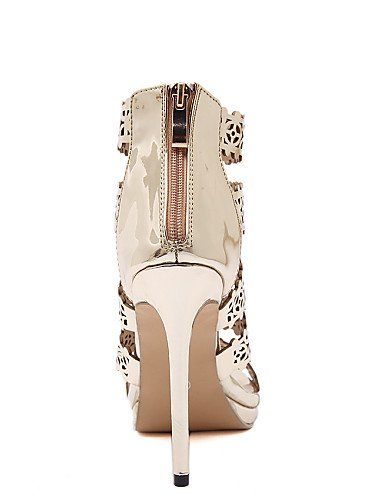 LFNLYX Chaussures Femme-Mariage / Habillé / Décontracté / Soirée & Evénement-Or-Talon Plat-Talons / Confort / Nouveauté / Bottes à la Mode / golden