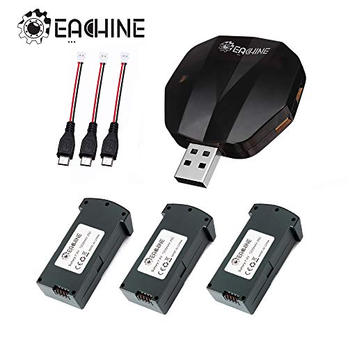 EACHINE E520 Batería 4PCS con Cargador