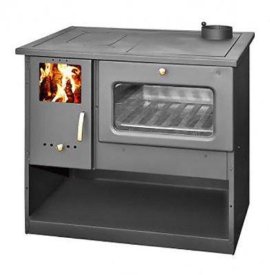 Estufa de leña con horno de alta eficiencia, fabricada en la UE,...
