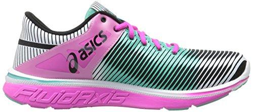 Asics Gel-Super J33 2 Synthétique Chaussure de Course Black-Mint-Pink