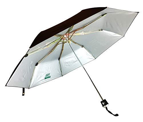 KC Paul & Sons Major 3 Fold Black Premium Quality Strong & Durable Umbrella