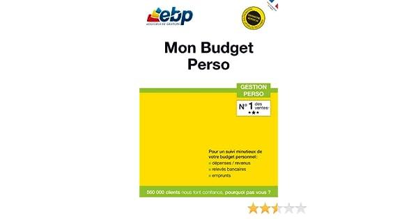 EBP MON BUDGET PERSO GRATUIT