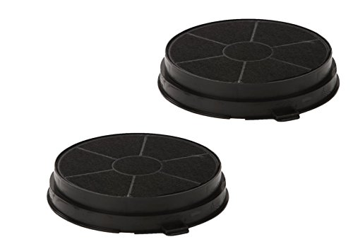 Filtro de carbón activo Drehflex para diversos modelos de campana extractora, por...