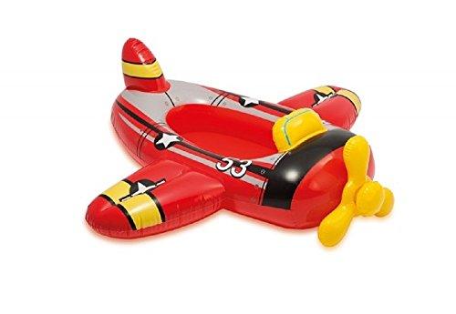 Wasserspass / Kinder Boot Kinderboot Schlauchboot Pool-Cruiser ideal für den Pool oder See Feuerwehr Rakete oder Wal Kinder-Schlauchboot dieses Boot sorgt für noch mehr Spaß beim Spielen im Wasser witzige Design ist ein Hingucker / Der absolute Plansch- und Badespaß für Kinder. bietet Ihren Kindern den absoluten Badespaß, egal ob am Meer, im Freibad oder in Ihrem Pool zu Hause. Einfach aufblasen und los geht's. So es überall und schnell einsatzbereit (Flugzeug)