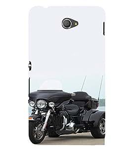 EPICCASE Wonder Bike Mobile Back Case Cover For Sony Xperia E4 (Designer Case)