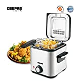 Best Deep Fat Fryers - Geepas Deep Fat Fryer 1.5L | Stainless Steel Review
