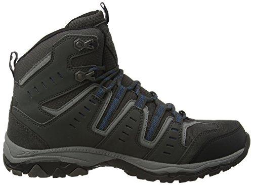Jack Wolfskin MTN STORM TEXAPORE M Herren Trekking- & Wanderstiefel Grau (moroccan blue 1800)