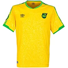 Umbro 2018-2019 Jamaica Home Football Soccer T-Shirt Camiseta