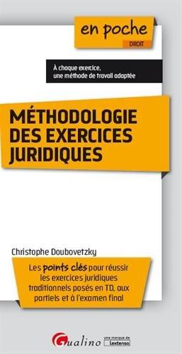 Méthodologie des exercices juridiques