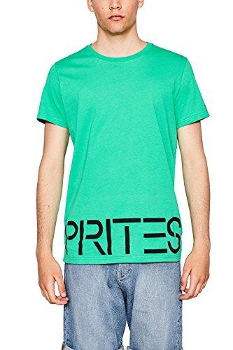 ESPRIT Herren T-Shirt 057ee2k043 Grün (Green 310)