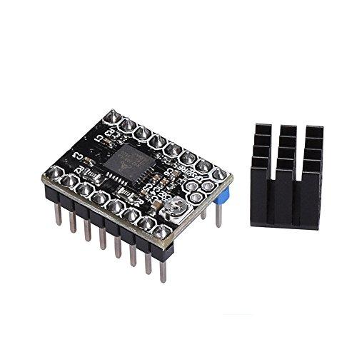 Redrex Ultra-quiet TMC2208 V2.0 Schritt Motor Treiber Modul mit Heat Sink für 3D Drucker und zum Upgraden von A4988 and DRV8825