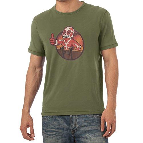 TEXLAB - Titan Boy - Herren T-Shirt Oliv