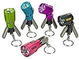 Stanley LED-Mini-Taschenlampe Max Life (farbig, mit Stativ und Schlüsselanhänger, klein + stark, schwenkbarer Kopf, inkl. Batterie) 1-95-393