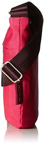 Oilily Damen Groovy Shoulderbag Svz Umhängetasche, 1 x 21 x 23 cm Pink (Pink)