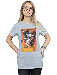 Absolute Cult Friday The 13th Mujer Jason Goes To Hell Camiseta del Novio Fit