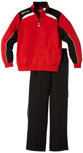 lotto-sport-tuta-bambino-suit-assist-mi-jr-rosso-flame-black-m