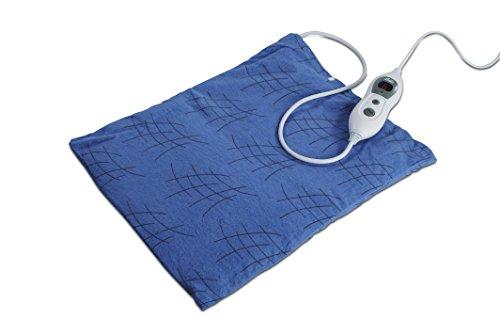 SOLIS Wärmekissen aus weichem Fleece, 6-stufige Temperatureinstellung, Digitalanzeige, Thermopad Heizkissen (Typ 226)