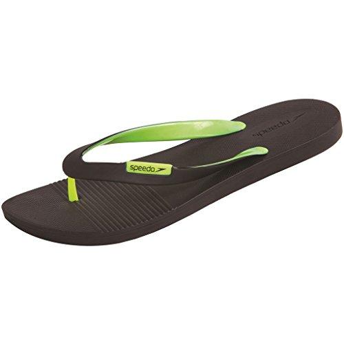 Speedo Sandales de plage Saturate II Nero/Giallo Fluo