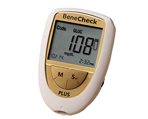 BeneCheck Plus - 3in1 Messgerät (Cholesterin + Harnsäure + Glukose)