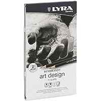 Lyra L1111120 - Scatola Metallo Matite Art Design