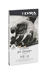 Lyra Art Design 669 1111120 Metal Case containing 12 pencils