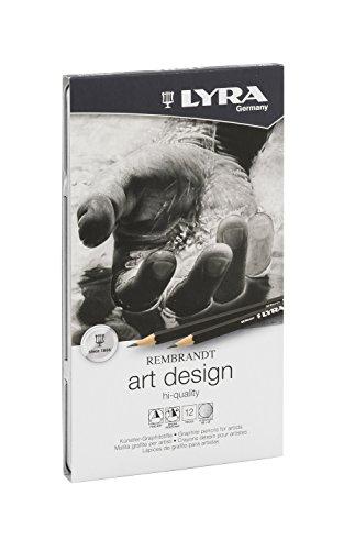 LYRA 1111120 Art Design 669 Metalletui M12 Metalletui mit 12 Bleistifte