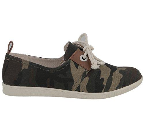 Sneakers Armistice - Stone One - Army Vert