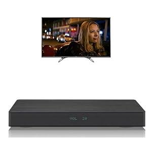 Panasonic TX-49DX600B 49 inch 800 Hz 4K Ultra HD Smart LED TV and Panasonic SC-HTE80EB-K Wireless Speakerboard Bundle