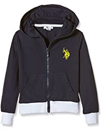 US Polo Association Adam Flc, Sudadera con Capucha para Niñas