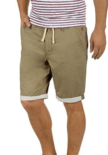 BLEND Kankuro Herren Shorts kurze Hose Bermuda-Shorts aus 100% Baumwolle, Größe:S, Farbe:Lead Gray (70036) (Grays Baumwoll-shorts)