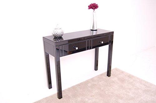 Miadomodo toelette tavolino da trucco bianco con sgabello e