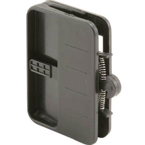 prime-line Produkte 12609Deko Einsteckschloss Bildschirm Tür Verriegelung und ziehen mit Sicherheit Lock, schwarz (Lock-bildschirm-tür)