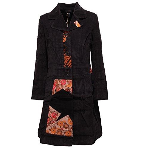 2523R giacca donna CUSTO BARCELONA NOUK ZAKI cappotto velluto jacket woman [40]