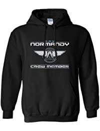 8Ball Originals - Mens Inspired By Mass Effect Hoodie - Normandy