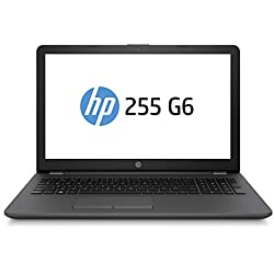 "HP 255 G6 Notebook PC, Sistema operativo Windows 10 Pro 64, APU AMD A6-9225, 8 GB di RAM, SSD da 256 GB, Schermo 15,6 "" FHD Antiriflesso, Nero"